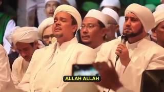[8.61 MB] Isfa'lana ya Rasulallah, Sidnan Nabi, Ya Badrotim, Ya Hanana Habib Syech dan Habib Rizieq Lirik