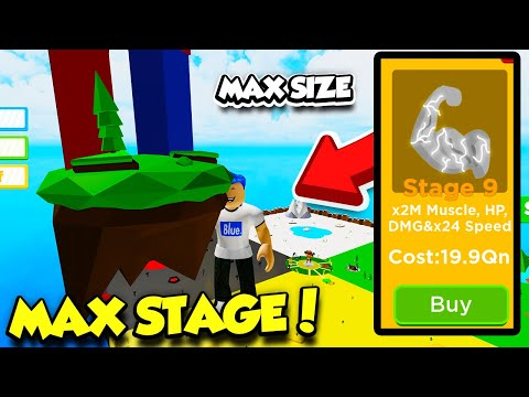 BUYING THE $199,000,000,000 STAGE 9 BODY ALTER IN BIG LIFTING SIMULATOR! *MAX SIZE* (Roblox)