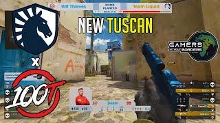 THE NEW TUSCAN!? Liquid vs 100 Thieves  SHOWMATCH - HIGHLIGHTS   CSGO