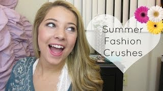 Summer Fashion Crushes TAG! Thumbnail