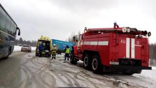 ДТП Пермь-Краснокамск 23 февраля