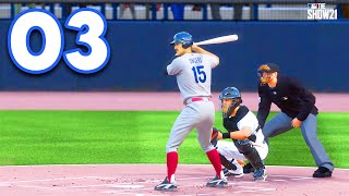 MLB 21 Road to the Show - Part 3 - WARNING TRACK POWER