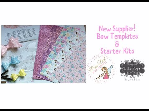 Starter Kits & Bow Templates plus NEW SUPPLIER & DISCOUNT CODES!