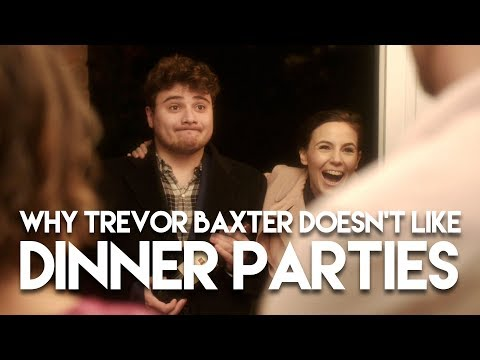 Why Trevor Baxter Doesn't Like Dinner Parties | A film by Matt Ley