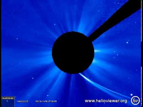 LASCO C3 (2013-11-28 06:06:09 - 2013-11-29 00:18:07 UTC)