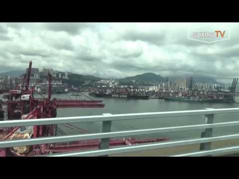 Pelabuhan terbesar Hongkong
