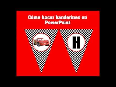 TUTORIAL Hacer Banderines En PowerPoint MUY FÁCIL