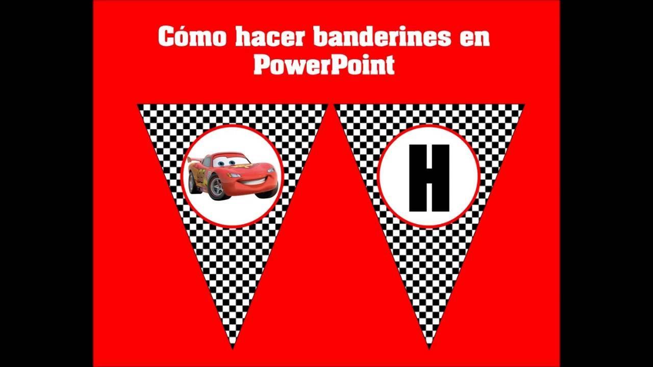 tutorial hacer banderines en powerpoint muy f u00c1cil