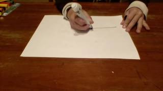 Drawing a police badge, Grady