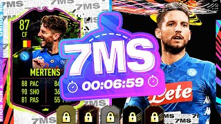 MY BEST EVER HYBRID!! RULEBREAKER MERTENS 7 MINUTE SQUAD BUILDER - FIFA 21 ULTIMATE TEAM