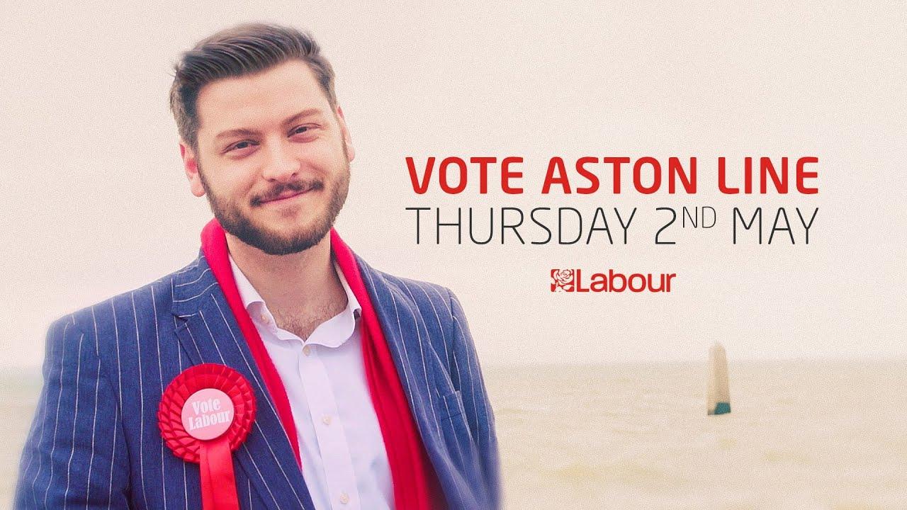 Vote Aston Line for Chalkwell, 2019