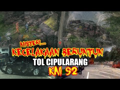 🔴VIRAL || MISTERI KECELAKAAN TOL CIPULARANG KM 92 Hari ini