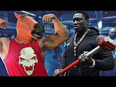 Anabolic Horse VS John Gomez - Strength Wars League 2K17 #39