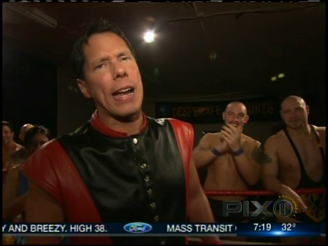 IWF Wrestling School on New York's PIX11 Morning News February 16, 2010
