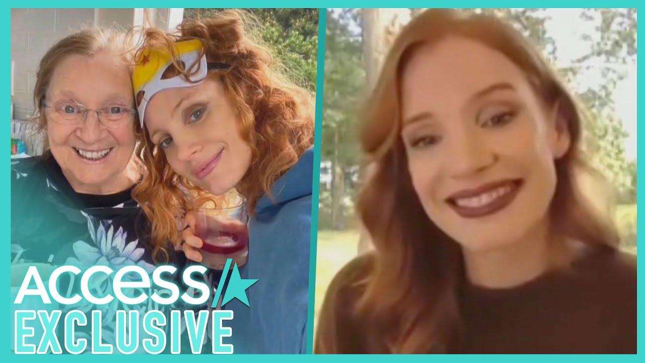 Jessica Chastain Works Out With Her 'Badass' Grandmother Every Morning In Quarantine
