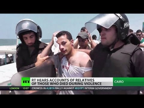 Egypt Massacre: Live ammunition, snipers used to disperse protests