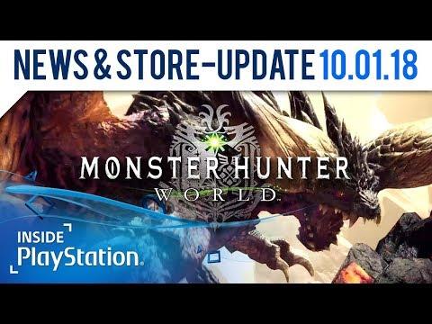 Monster Hunter: World - Die letzte Beta kommt! | PlayStation News & Store Update