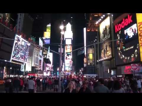 New York City Nights Time Square