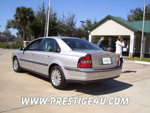 one owner 2000 volvo s80 luxury sedan in ocala florida youtube rh youtube com 2001 Volvo S80 Engine Diagram 2002 Volvo S80 Oil Recommended