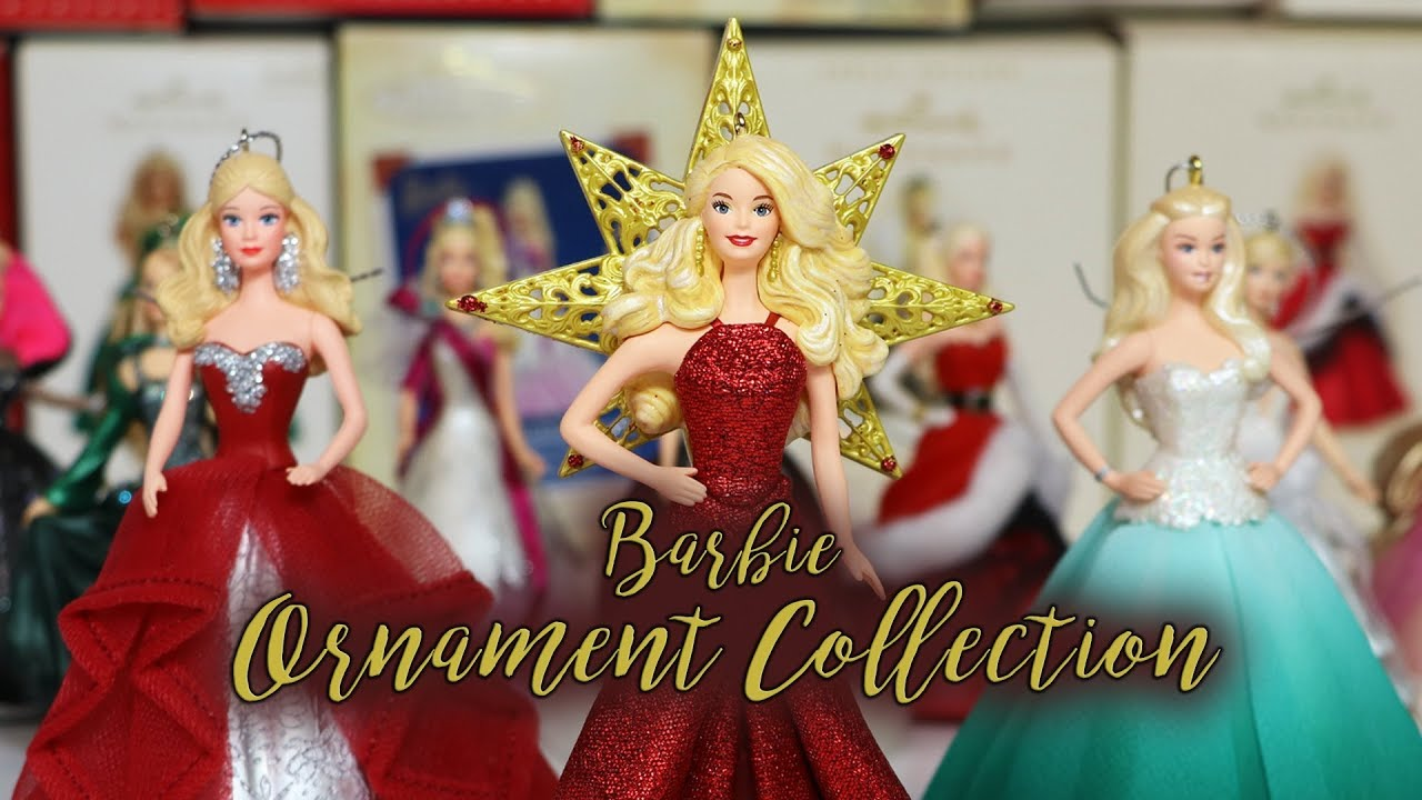 Barbie Christmas Ornament.My Barbie Christmas Ornament Collection