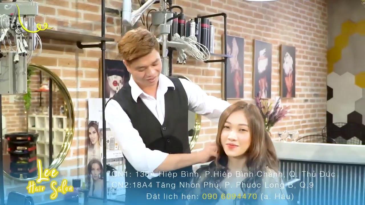 Ý tưởng quay công nghệ làm tóc cho salon tóc