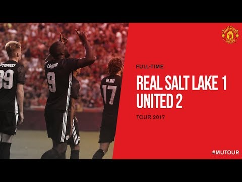 Real Salt Lake vs Manchester United | The Unmissable Tour | Goals & Highlights