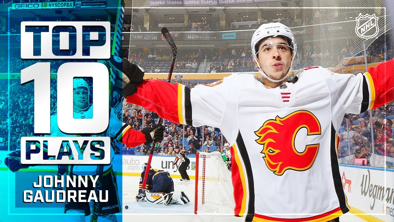 Top 10 Johnny Gaudreau Plays From 2018 19 Youtube