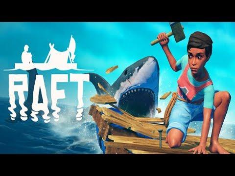 Raft - ВЫЖИВАНИЕ НА ПЛОТУ И ОСТРОВАХ #1