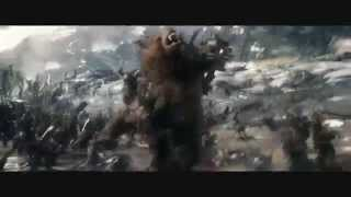 Hobbit. Beorn w bitwie (Beorn in the battle. B5A Extended Edition)