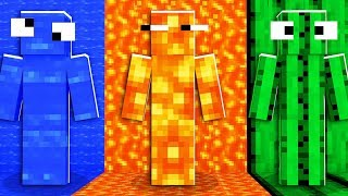 HILARIOUS Minecraft Rainbow Camo Hide And Seek PRANK | JeromeASF