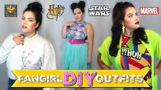 FANGIRL DIY OUTFITS | How To Nerdify Your Closet