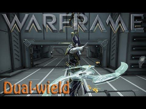 Warframe - Dual-wielding Melee & Secondary