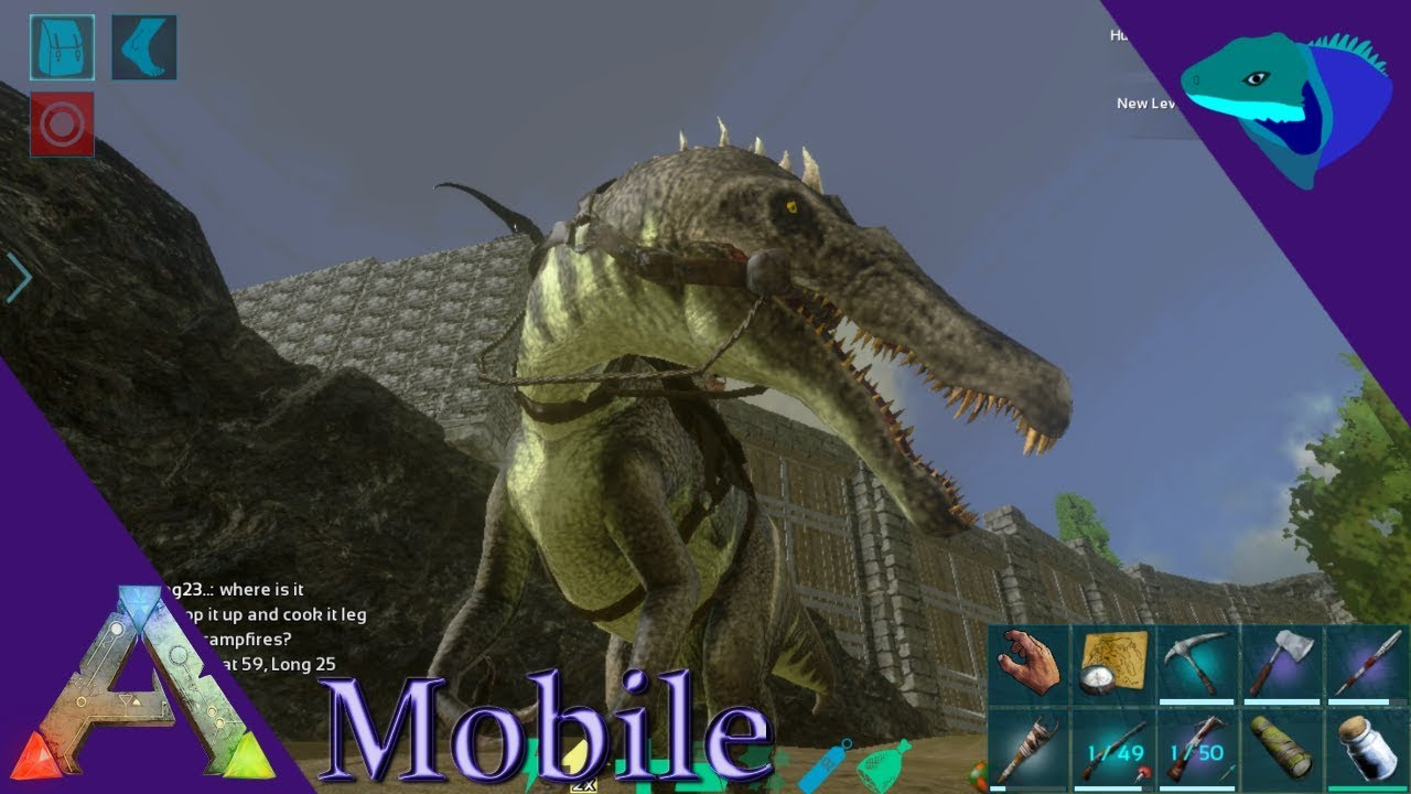 BARYONYX TAMING, ARGY, GOD CONSOLE! MAJOR MOBILE UPDATE! Ark: Mobile  [S1:E41]