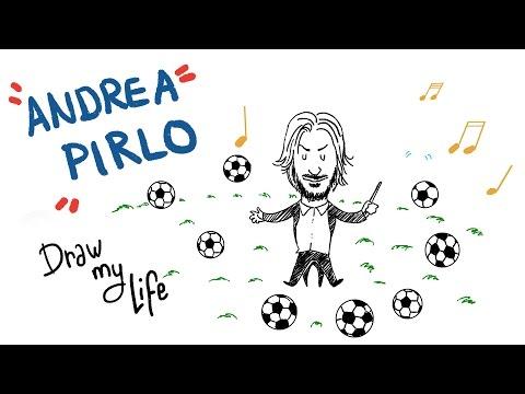 La historia de Andrea Pirlo - Draw My Life