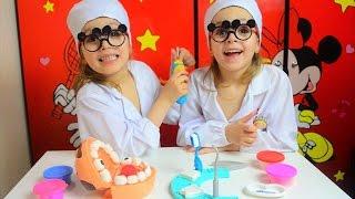 Набор Плей До Мистер Зубастик. Play doh. Игра в стоматолога. Детский канал Расти вместе с нами.