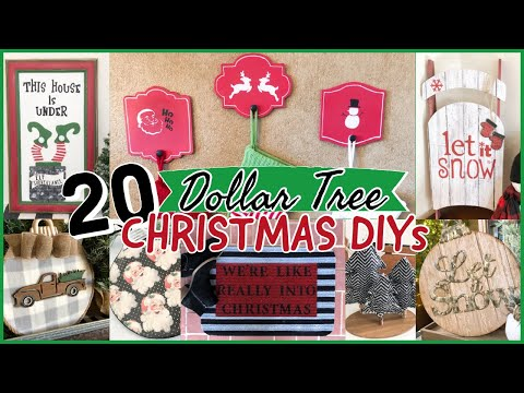 the-best-dollar-tree-diy-christmas-ideas-2020!!