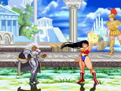 DC vs Marvel - Storm vs Wonder Woman