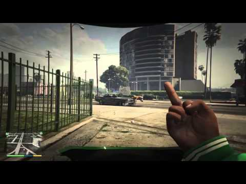 Grand Theft Auto V Up Yours