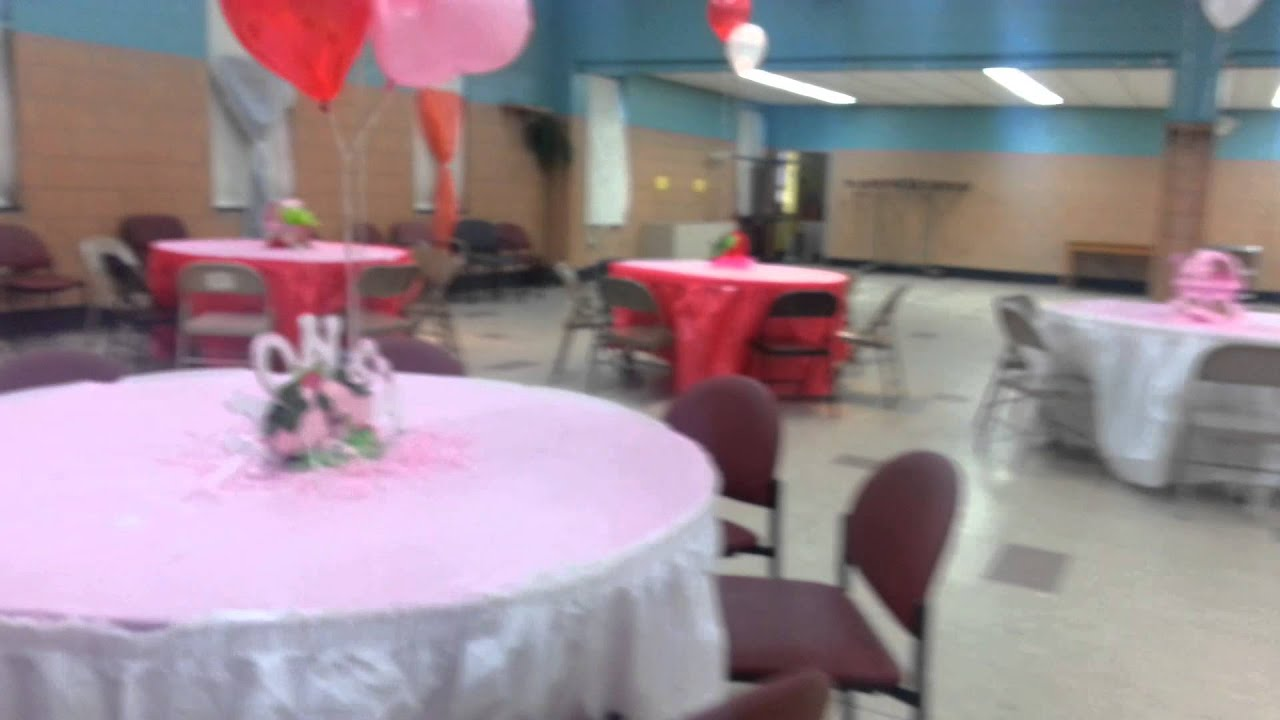 Strawberry shortcake baby shower candy cake table