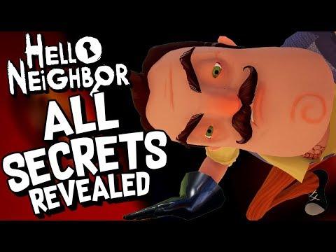 Hello Neighbor - ALL SECRETS REVEALED (Full Game Walkthrough)