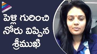 Sreemukhi Opens Up about her Marriage | Sreemukhi FB Live Chat with Fans | Telugu Filmnagar