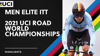 Men Elite ITT Highlights | 2021 UCI Road World Championships screenshot 2