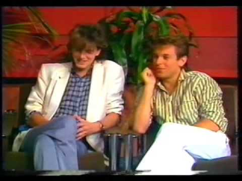 Roger & John Taylor on SAS10 TV 1983