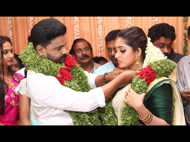 Malayalam Actor Dileep And Kavya Madhavan Got Married in Kochi   Latest News
