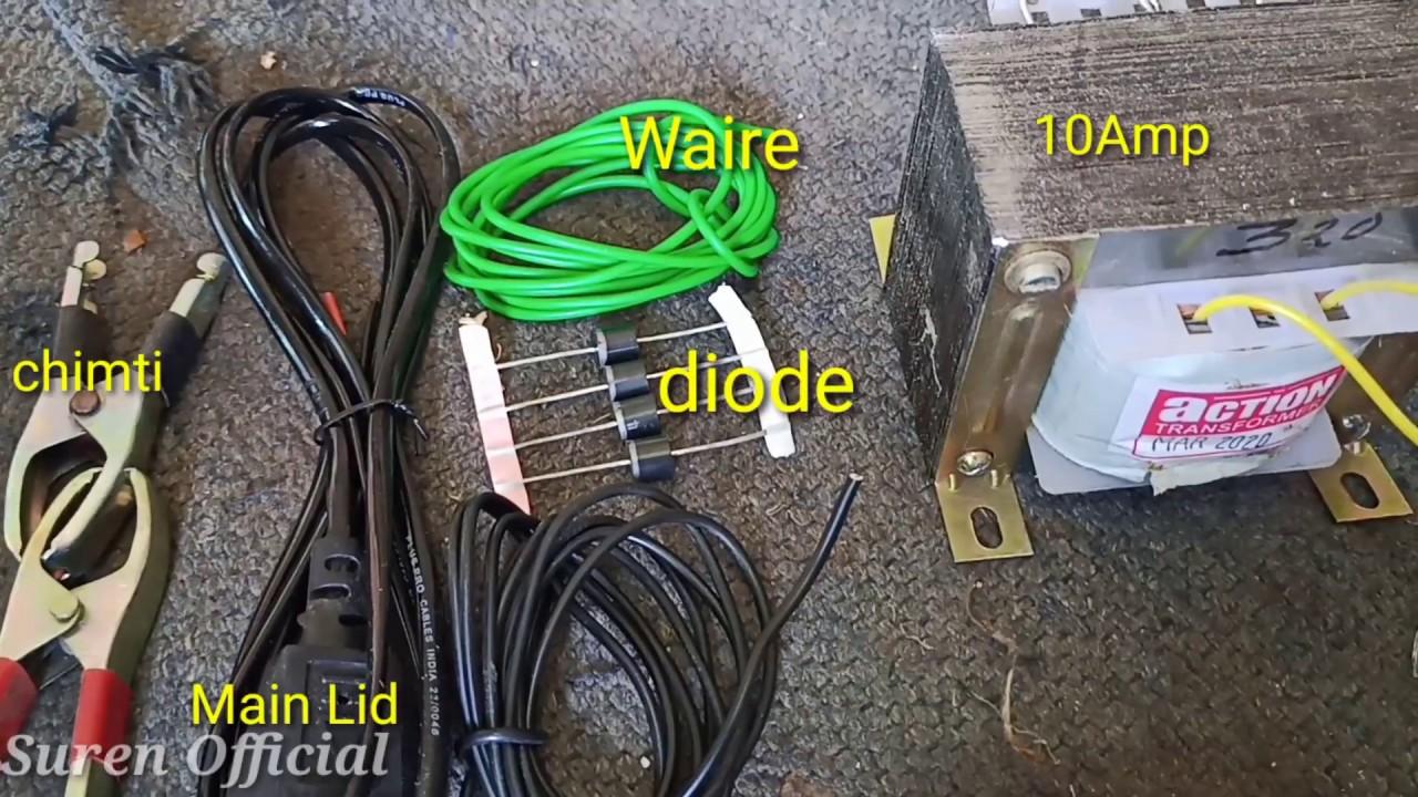 12 Volt 10 Amp Transformer Battery Charger Circuit Diagram ...
