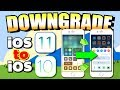DOWNGRADE iOS 11 to iOS 10 on iPhone, iPad, iPod Touch (MAC OSX/WINDOWS PC)