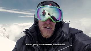 Gasherbrum II - First separate sound recording at the altitude of 8000 meters