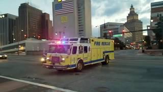 Best  Rare Emergency Units Responding ~Spares/Heavy Rescue/Hazmat/ ESU/