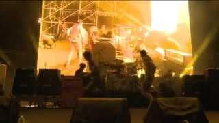 AMORAL - (multicam) Release, Wrapped in Barbwire, Dig Up Her Bones  @ Shanghai Midi Festival 2013
