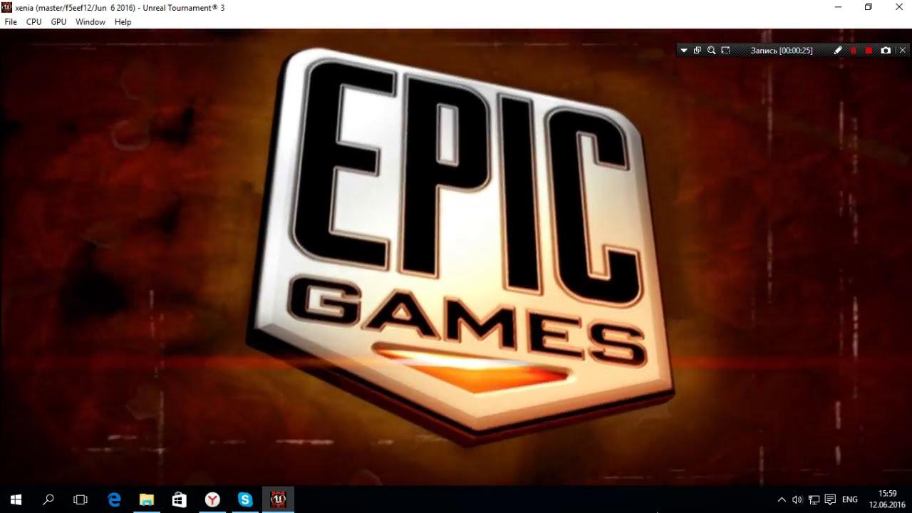 Xenia Emulator Xbox 360 (Unreal Turnament 3) Intro  Aleksey Good 01:42 HD